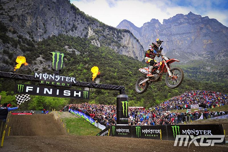 Jeffrey Herlings returned from injury to capture the MX2 overall. Photo: MXGP