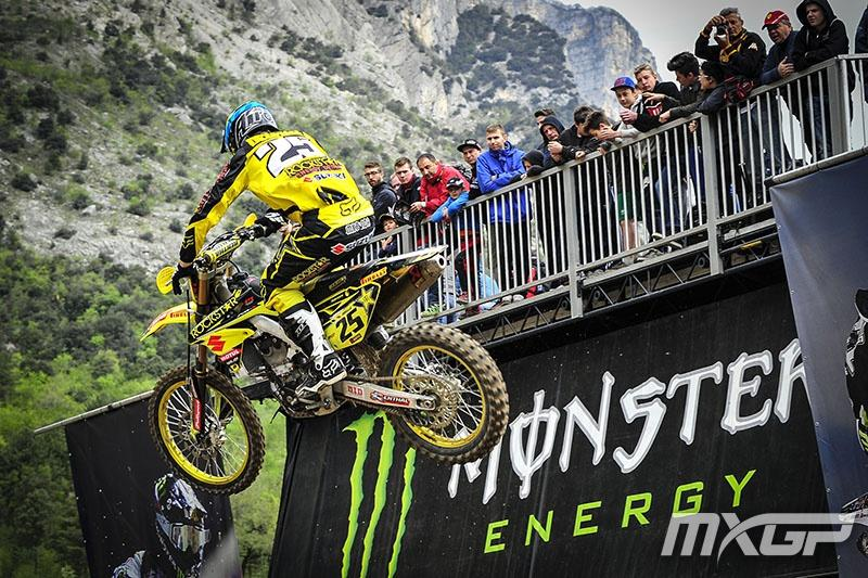 Clement Desalle won his first overall on the season in Italy.  Photo: MXGP