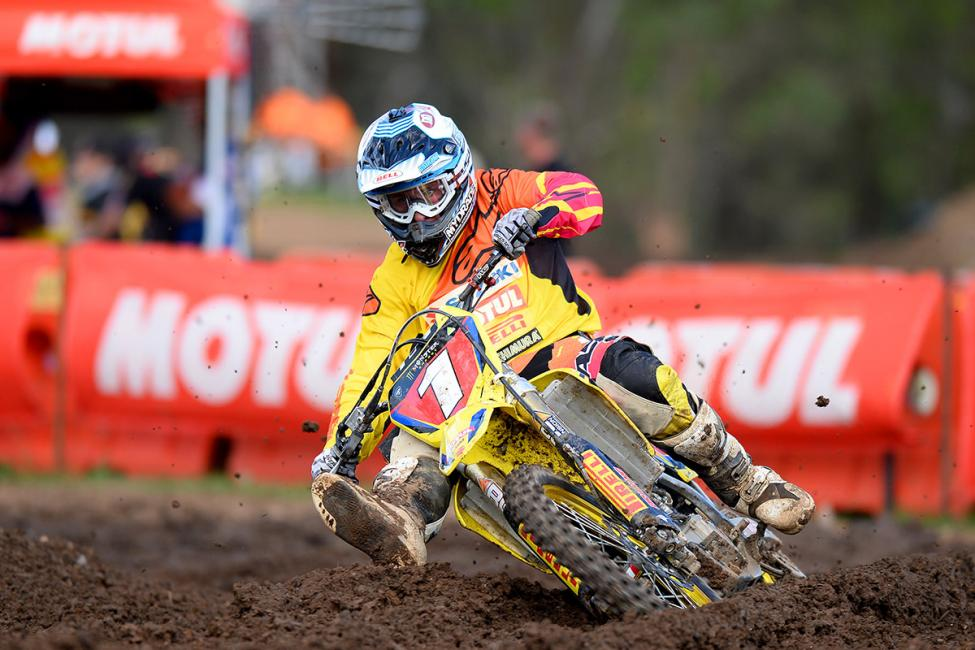 Matt Moss won the overall at round 2 in Appin.  Photo: Jeff Crow / MotoOnline.com.au