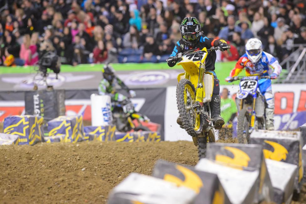 Hill will ride the last two rounds of Monster Energy Supercross with RCH, but will not ride the Lucas Oil Pro Motocross Championships with the team.