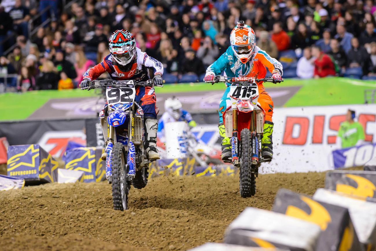 Sign of the (Lap) Times: Seattle SX