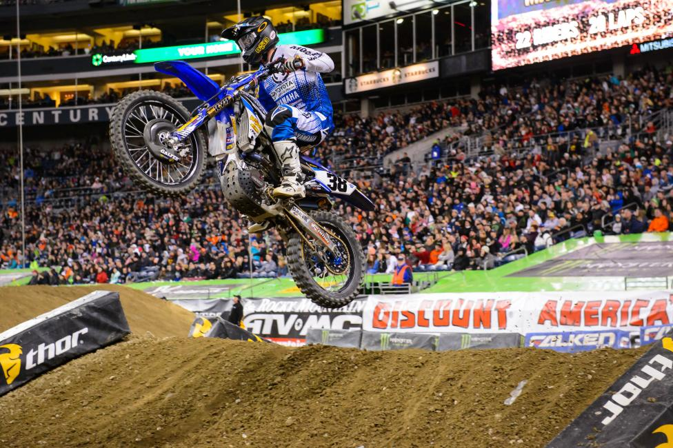 It was a tough weekend for the JGR Toyota Yamaha fill-in riders.