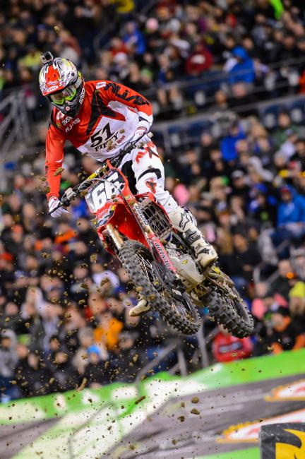 Canada is currently 10th in points in the 250SX West Region.