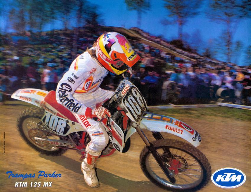 Trampas Parker's 1989 FIM 125cc World Championship title run is the stuff of legend.