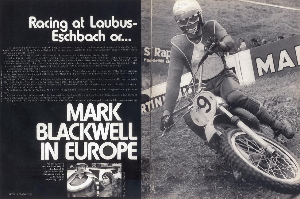 Mark Blackwell was one of America's early travelers to Europe.