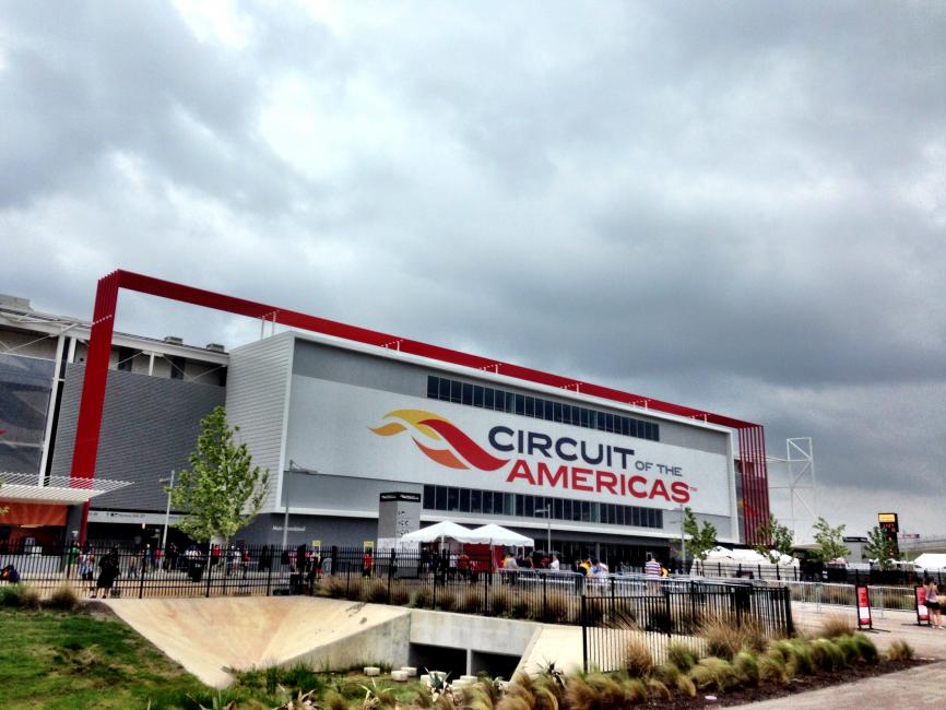 Circuit of Americas Entrance.  Photo: DC