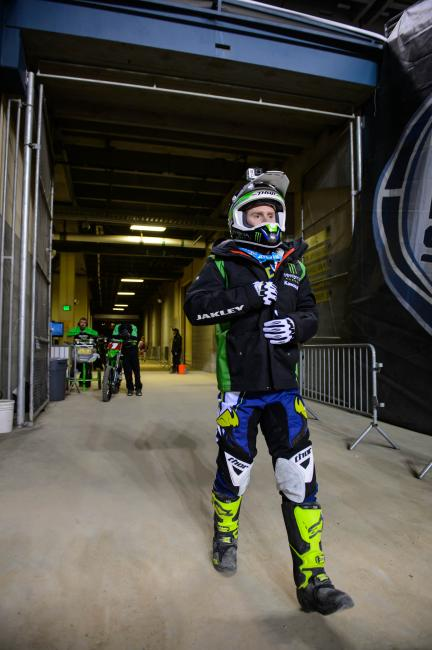 Will RV suit up for the Lucas Oil Pro Motocross Championships? Stay tuned... Photo: Simon Cudby