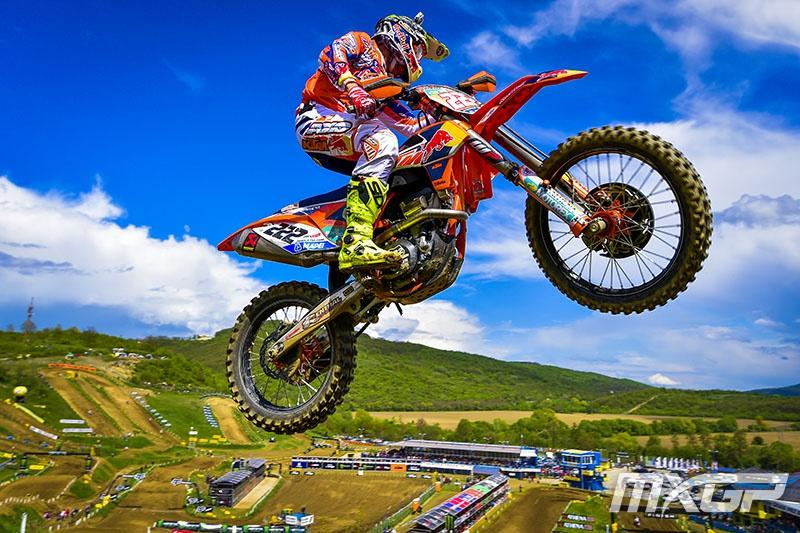 Antonio Cairoli extended his points lead over the weekend. Photo: MXGP