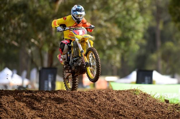 Matt Moss holds a 20 points lead in MX1.  Photo: Jeff Crowe / MotoOnline.com.au