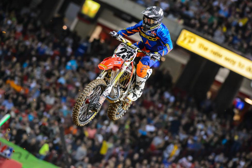 Hahn hopes to be back on the bike in 6-8 weeks.