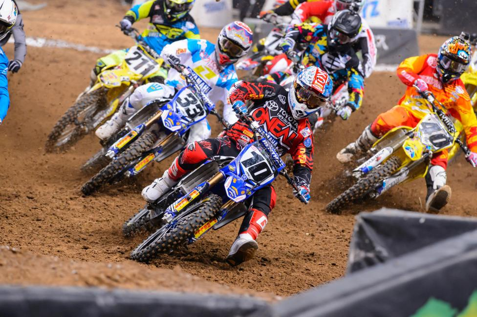 Brayton will miss the last two rounds of Monster Energy Supercross.