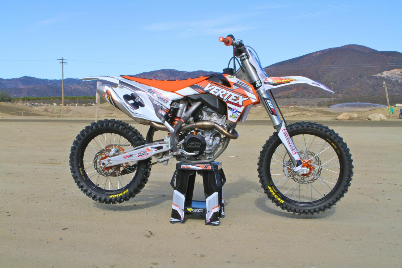 Racer X Films: Big Bore KTM 366SX-F