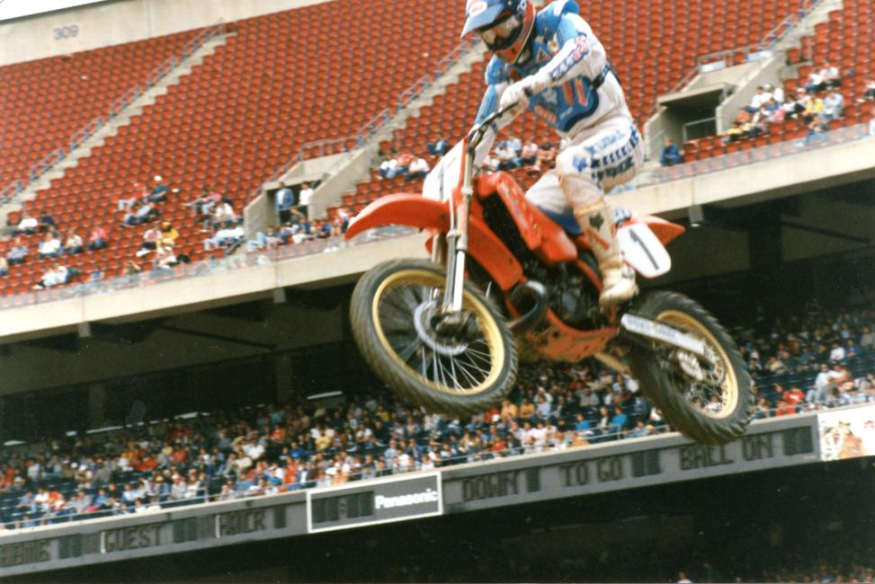 Ricky Johnson won back-to-back races in New Jersey in 1987 and 1988. Photo: Thom Veety