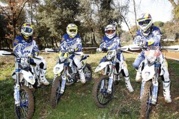 Scorpion Signs Bel-Ray Husqvarna Team