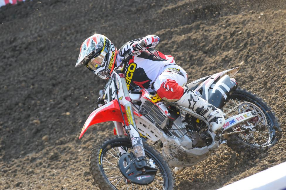Zach Bell won't return until the Lucas Oil Pro Motocross Championship. Photo: Simon Cudby