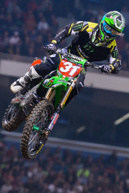 Martin Davalos will not race at MetLife stadium on Saturday.