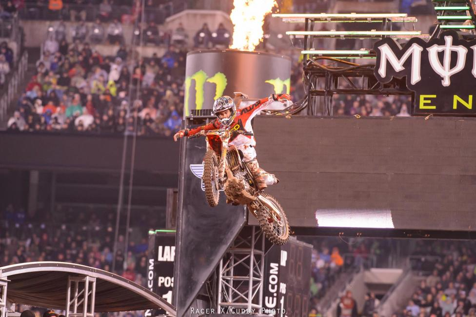 Bogle celebrates in style! Photo: Cudby