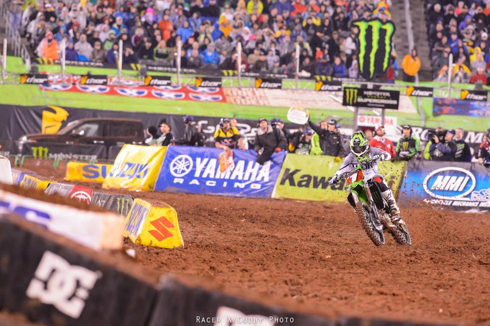 Once again the field was deep. Once again they came in ready to challenge him. Once again Ryan Villopoto won the race and title with room to spare.Photo: Cudby