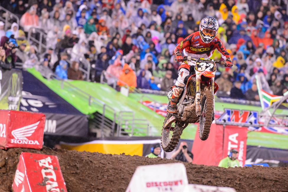 With his win on Saturday night, Justin Bogle became the new 250SX points leader and is virtually a lock to win his first career title.