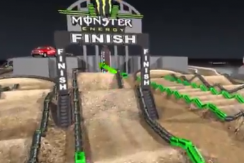 Animated Track Map: Las Vegas
