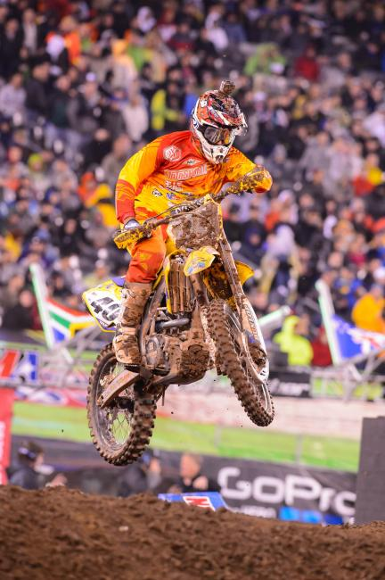 Weston Peick scored his seventh top ten of the season Saturday.