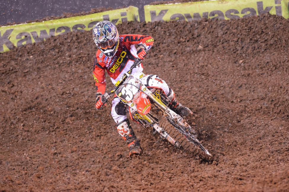 Justin Bogle was able to stay calm during a hectic week.