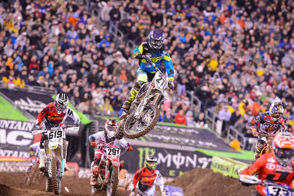 After making the 450SX main in Seattle, T-Tap made it again in New Jersey.