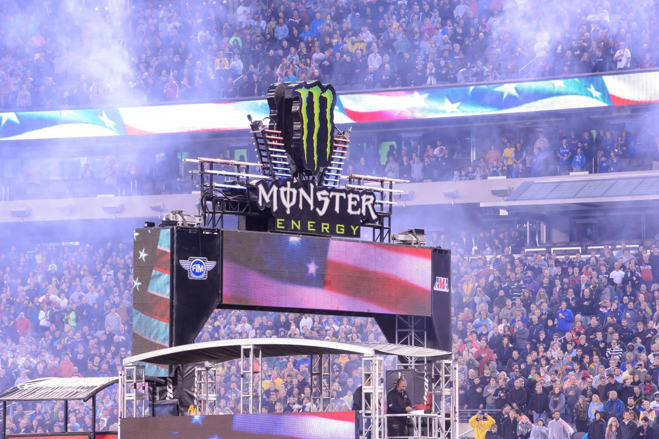 2015 Monster Energy Supercross Schedule Announced