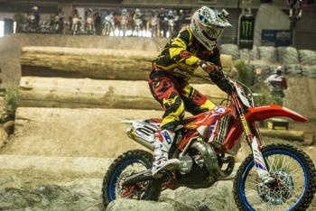 Webb Wins EnduroCross Opener
