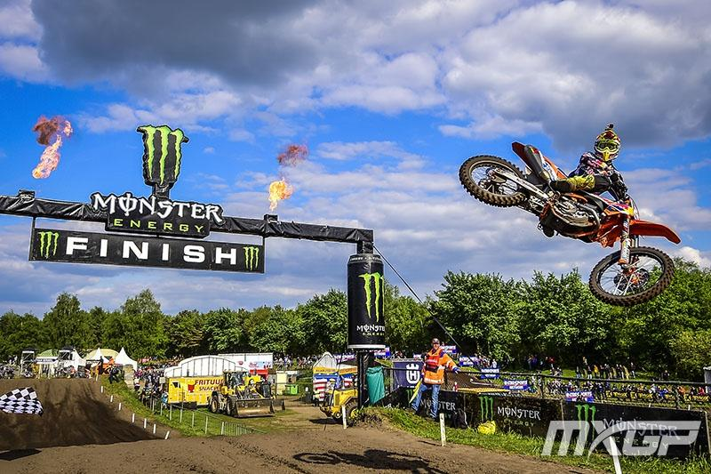 Antonio Cairoli won the MXGP in The Netherlands.
