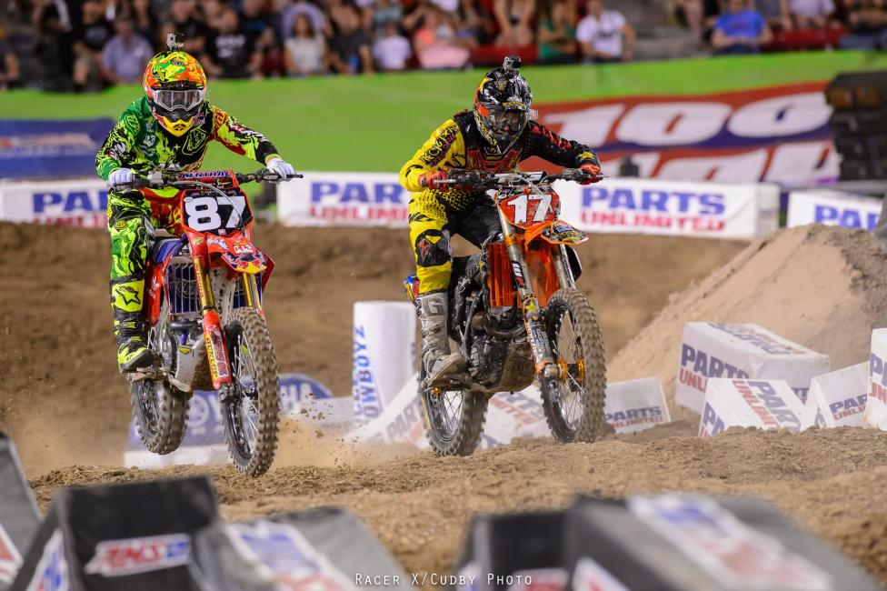 McElrath and the rest of the TLD riders played nice with Anderson.