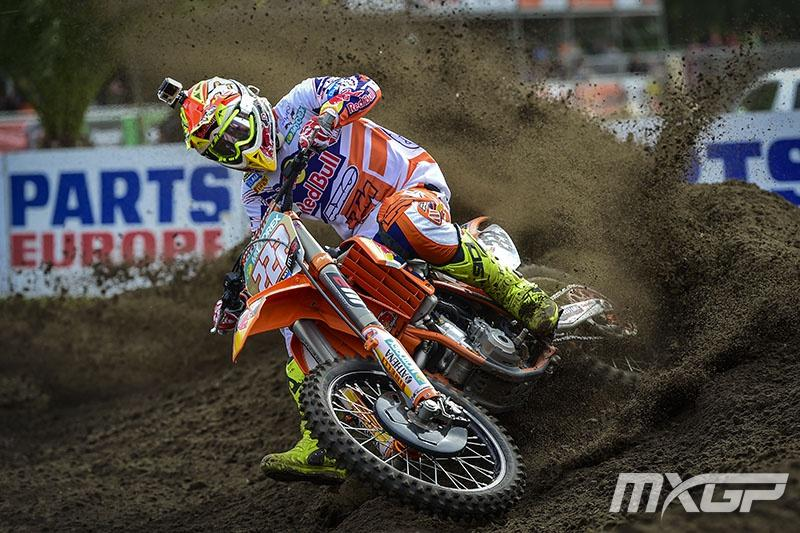Cairoli overcame first moto bike problems to capture the MXGP overall. Photo: MXGP