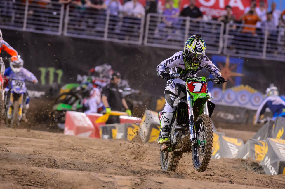 It was confirmed yesterday that Villopoto would miss the 2014 Lucas Oil Pro Motocross season.  Photo: Simon Cudby