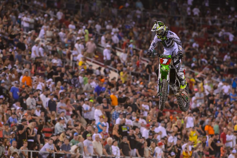 It was another dominating performance from Villopoto in Vegas.  Photo: photographer