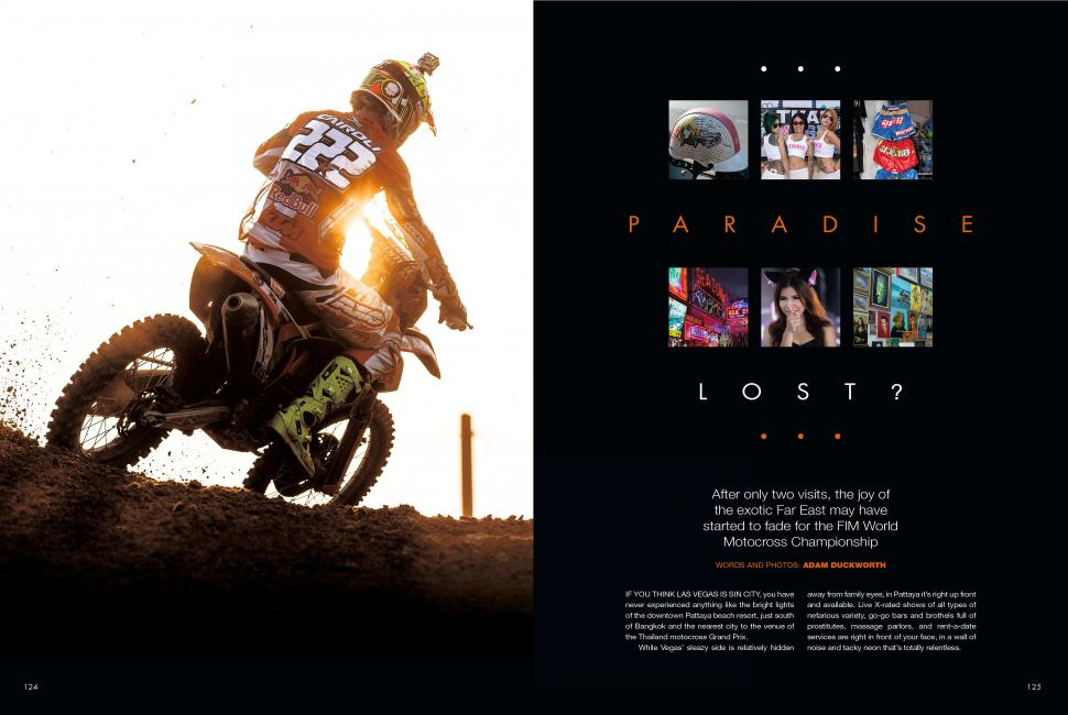 "Read the entire ""Paradise Lost?"" feature in the June '14 issue of Racer X."