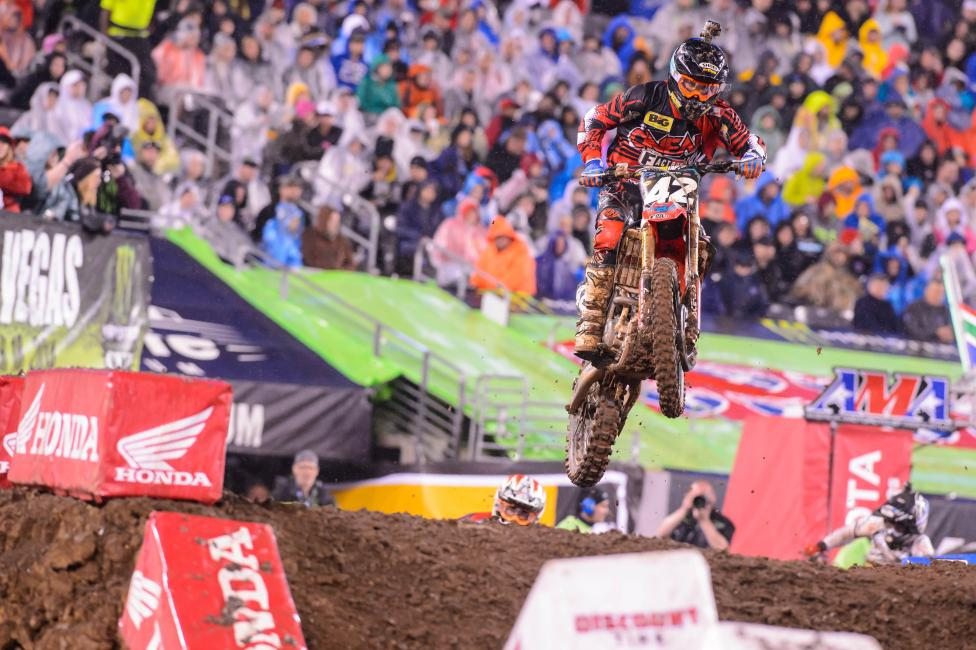 Friese will jump to the 450 Class for the Lucas Oil Pro Motocross Championship.  Photo: Simon Cudby