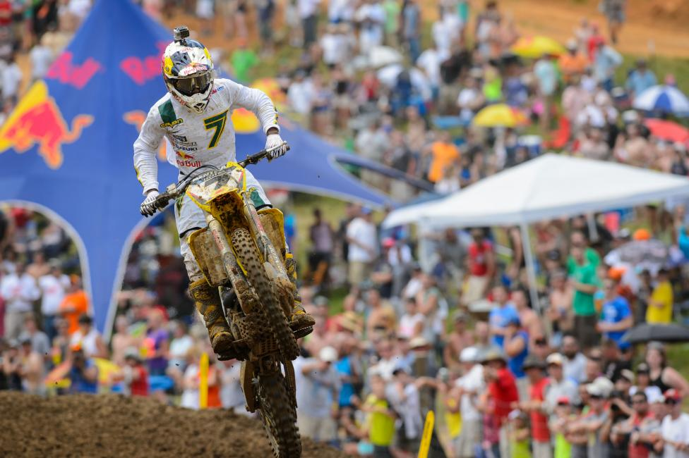 Bowyer has Stewart as the favorite to win the 2014 Lucas Oil Pro Motocross Championship. Photo: Simon Cudby