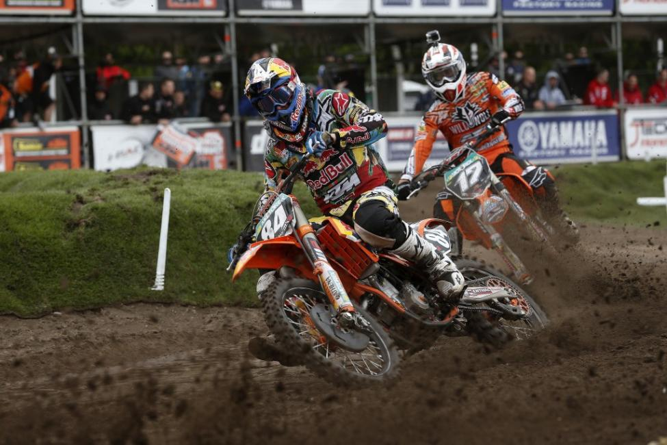 Herlings won his fifth straight at Valkenswaard last weekend.  Photo: Ray Archer