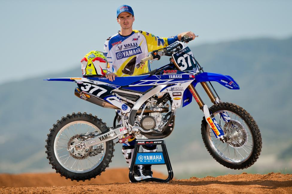 RV is out, but Christophe Pourcel is returning with Valli Motorsports Yamaha. Photo: Steve Cox