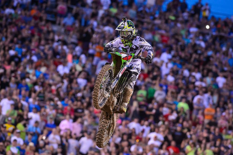 Villopoto announced this week that he would miss the 2014 Lucas Oil Pro Motocross Championship.  Photo: Simon Cudby