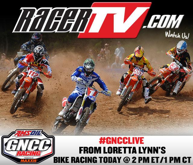 Watch live on RacerTV.com.