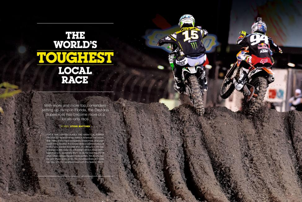 "Read ""The World's Toughest Local Race"" in the June '14 issue of Racer X."