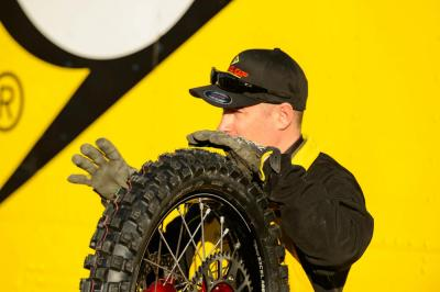 Brady Becker helps Dunlop riders grab traction.