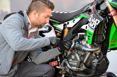 Chad Reed's wrench, Lars Lindstrom.