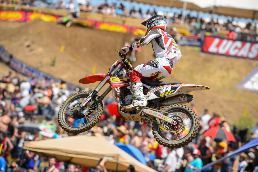Last summer began a rebuilding process for Justin Bogle. This year he comes in with momentum. Photo: Simon Cudby