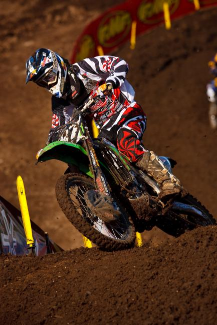 Larsen began his career with Team Canidae/Motosport Kawasaki.