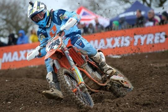 Shaun Simpson won at Canada Heights.  Photo: KTM