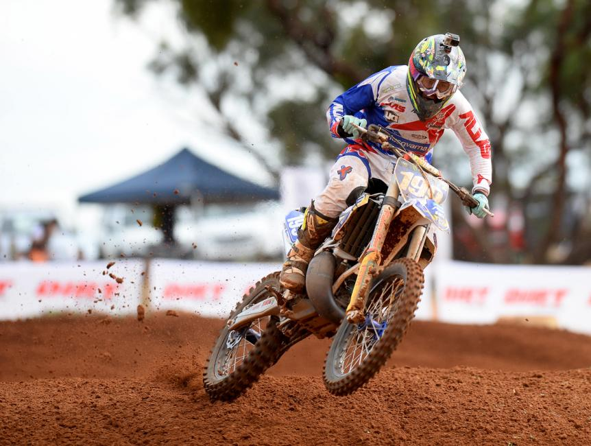 Luke Arbon won at Murray Bridge over the weekend. Photo: Jeff Crow