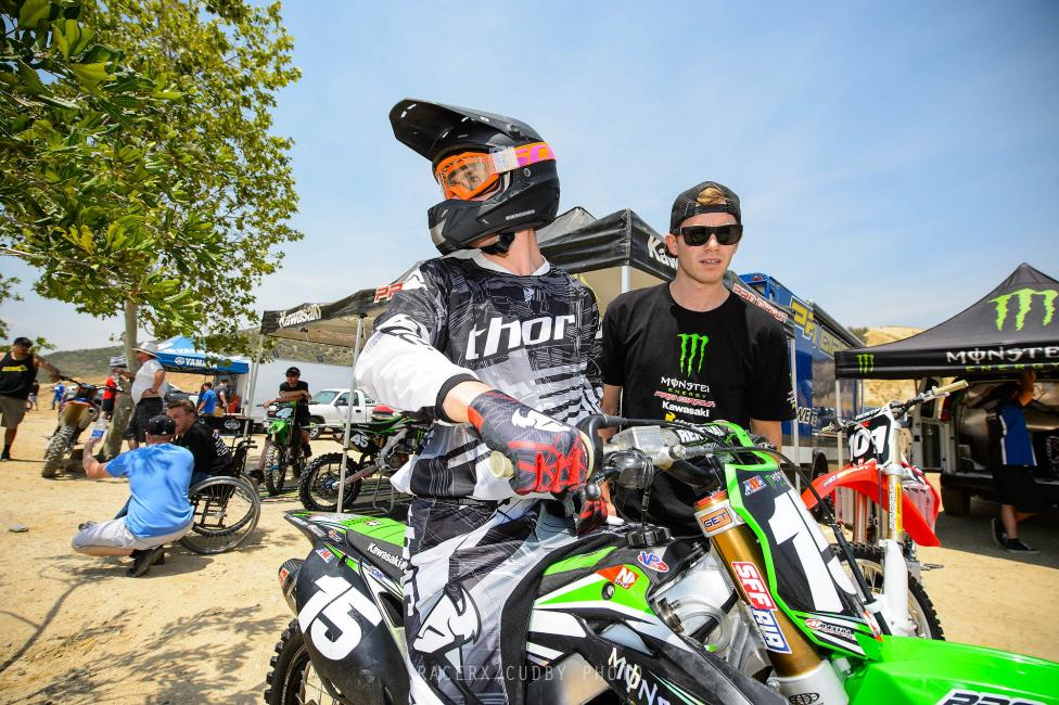 Dean Wilson is looking to capture his second 250MX Championship in 2014.  Photo: Simon Cudby