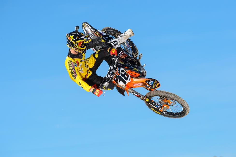 Glen Helen will mark the first race for Millsaps on the KTM. Photo: Simon Cudby